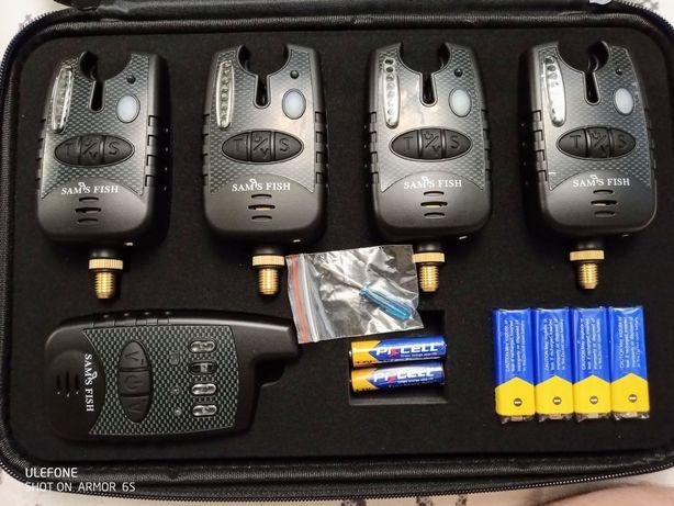 Сигнализаторы поклевки с пейджером 4+1 LED