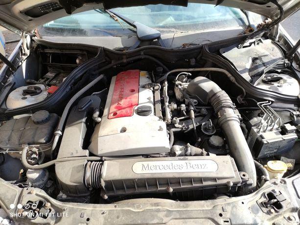 Silnik w203 2,0 kompresor
