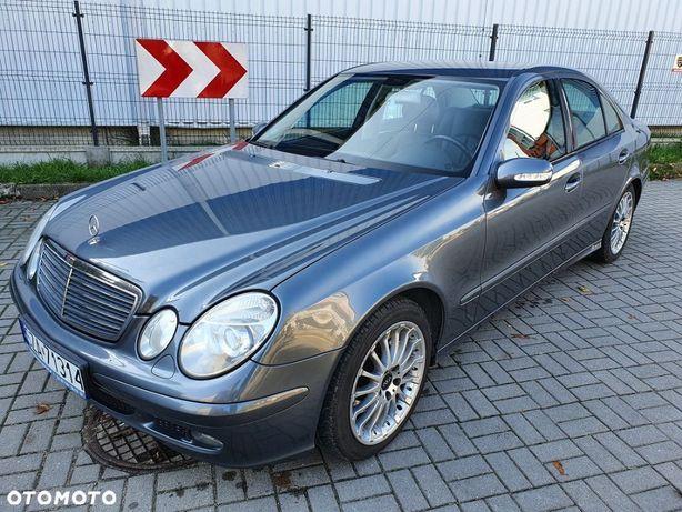 Mercedes-Benz Klasa E W211 Benzyna Lpg Ładny Serwis Aso Śląsk