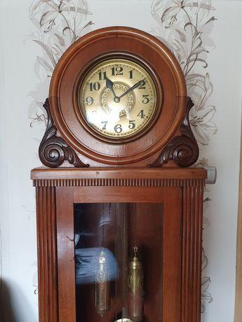 Antyk Stary zegar stojący sygnowany Urgos