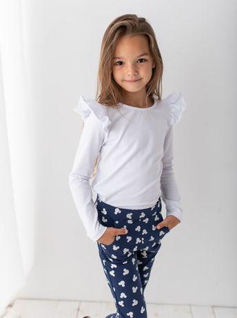 Komplet bluzeczka+spodnie rurki 98,104,110, 116