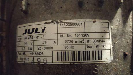 Luli linde 1.2kw 95hz silnik paleciak wózek sztaplarka hamulec intorq