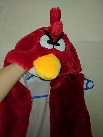 Жилетка женская Злые птицы костюм карнавальный размер М