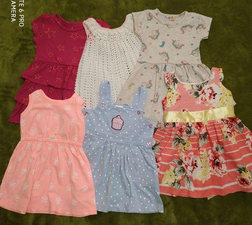 Летние платья на девочку 2 года
