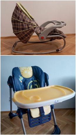 Bujaczek, z osłoną przeciwsłoneczną, krzeselko do karmienia