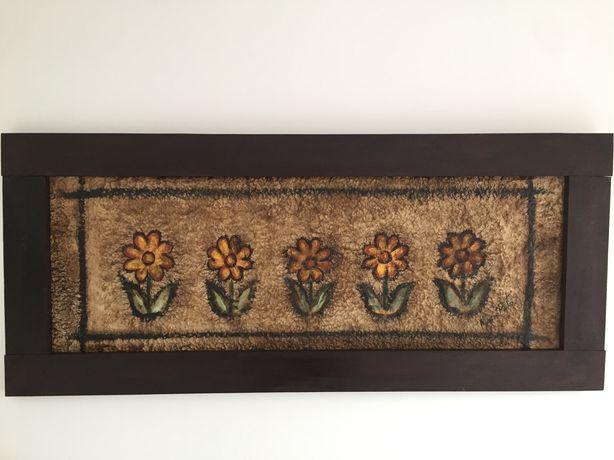 Quadros artesanais- moldura madeira maciça/ novos