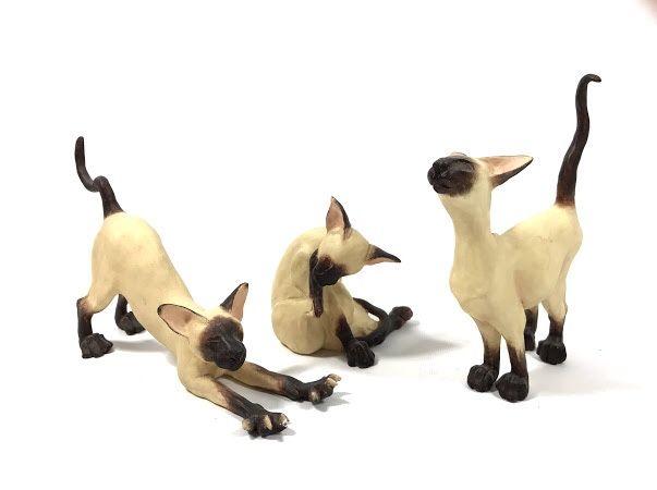 Коллекция статуэток Enesco Сиамские коты