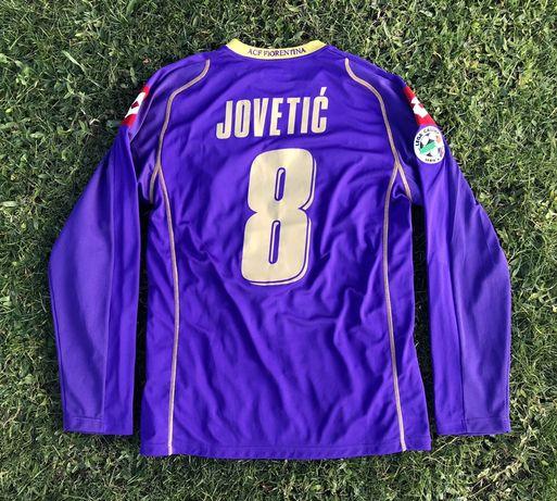 Camisola usada em jogo pelo Jovetić Fiorentina