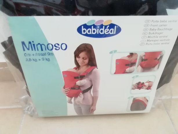 Porta bébé ventral