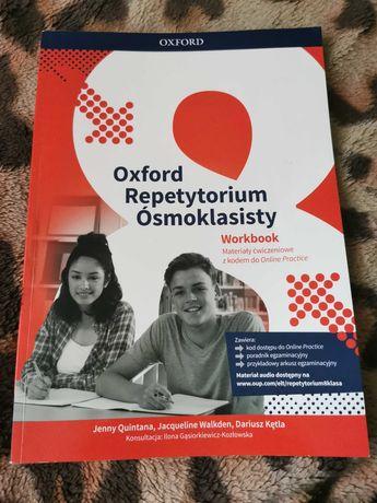 Repetytorium Ósmoklasisty Oxford 8 ćwiczenia  angielski workbook