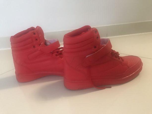 LU BOO sneakery czerwone 40