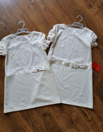 NOWA śliczna sukienka tunika dla dziewczynki rozmiar 134, 140
