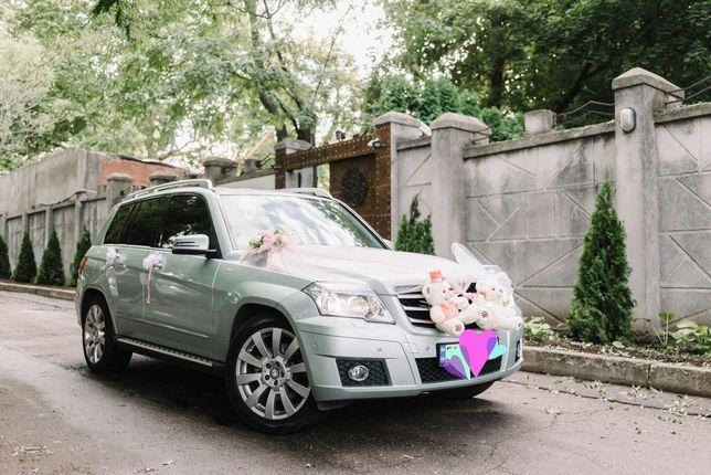 Аренда/прокат/заказ авто Mercedes GLK с водителем на свадьбу Одесса
