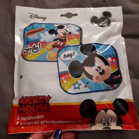 Zasłonki przeciwsłoneczne do samochodu Mickey Mouse Myszka Miki