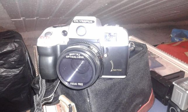Maquina fotografica olympia