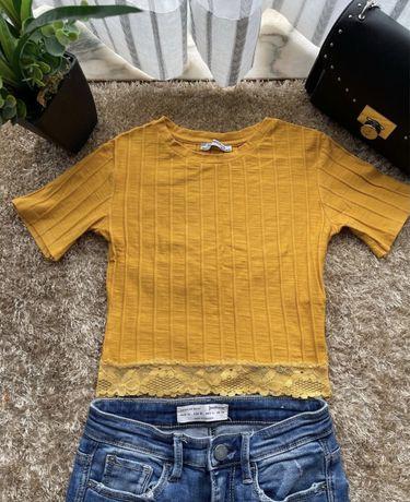 "Camisola  ""top"" amarela"
