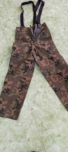 Spodnie wojskowe Gorotex wzór 128/MON rozmiar M/L