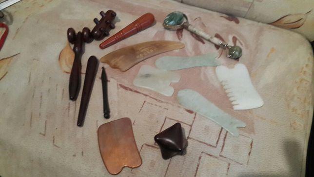 Скребки и инструменты для массажа