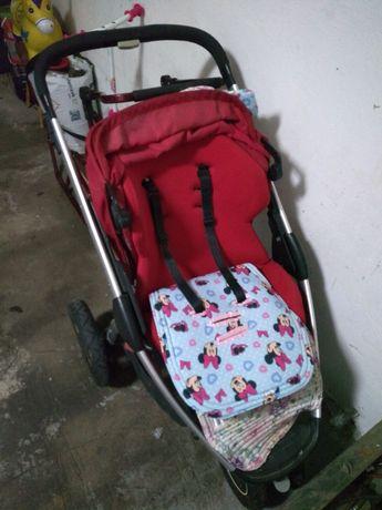 Wózek trzykołowy dla dziewczynki maxi Cosi stan db