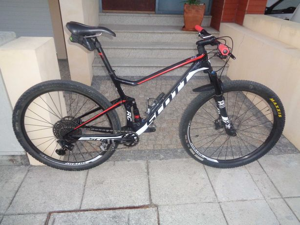 Bicicleta Scott Spark RC 900 Team
