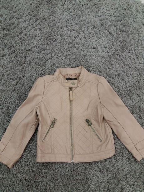 Куртка кожаная р.92 Lindex