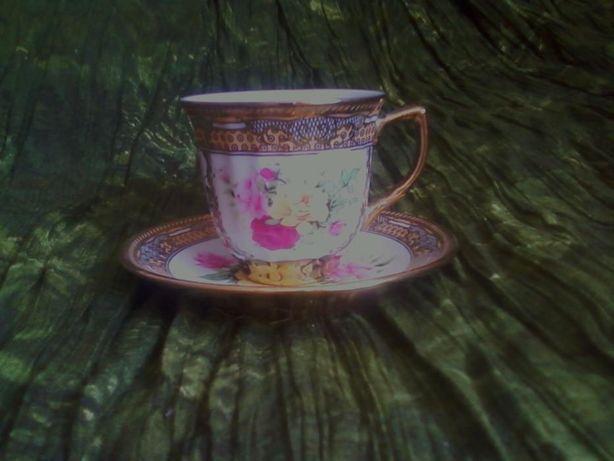 Кофейная чашка с блюдцем-Китай