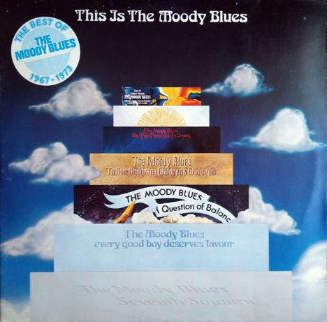 The Moody Blues – This Is The Moody Blues 2LP (1975)
