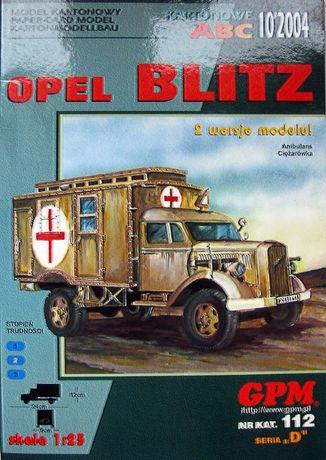 GPM 10/2004 nr 112 Opel Blitz