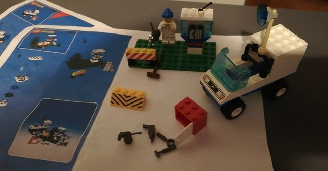 zestaw LEGO 6422 baza samochód Telephone Repair