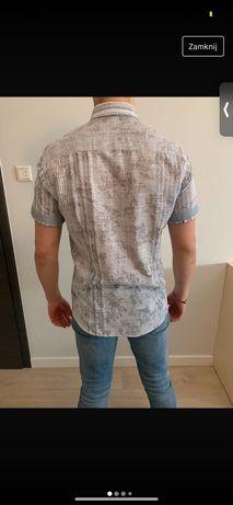 Koszula męska na krótkim rękawie