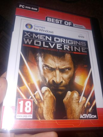 PC X-men Origins Wolverine Uncaged Edition