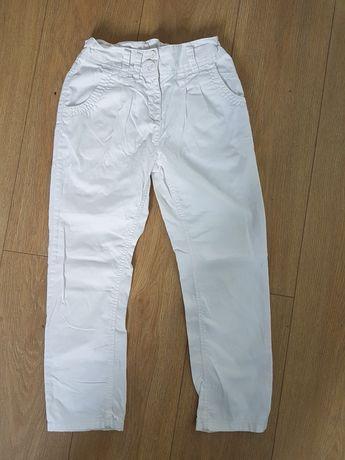 Spodnie dziewczęce Białe Next Rozm 134-140.