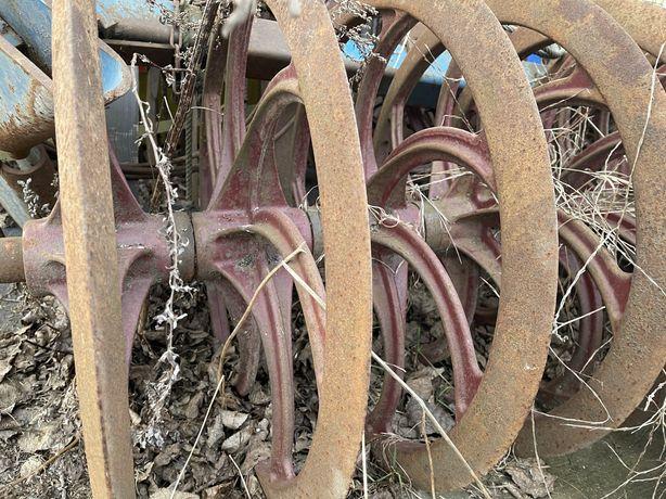Pierścienie wału cambella 17 sztuk 3 metry
