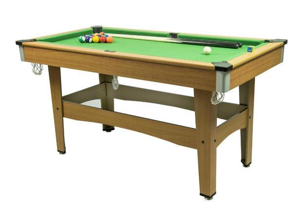 Stół BILARDOWY do gry w bilard duży - 128 x 66 x 11,5 cm