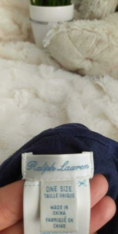 czapka niemowlęca dla niemowlaka dziecka dla noworodka Ralph Lauren
