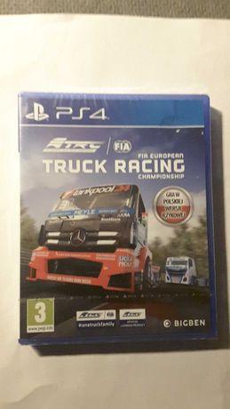 Gra FIA Truck Racing, wersja PL na PS4