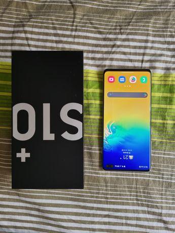 Galaxy S10 plus como novo c/ garantia 128GB cinza