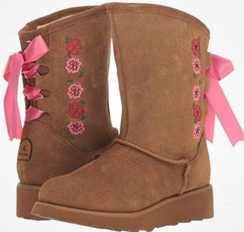 Сапоги ботинки Bearpaw Carly US 5 размер 34-35 Оригинал!