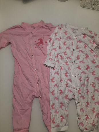 Pajacyk piżamka rozm 74 Sinsay 2 szt