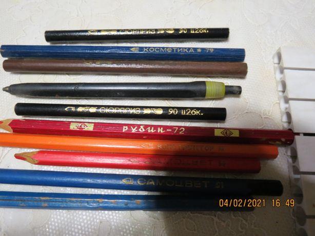 карандаши советских времён