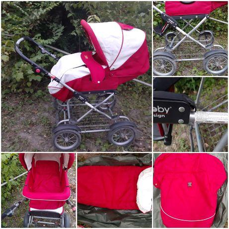 Дитяча коляска 3 в 1 для дітей 0-3 років Geoby