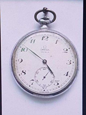 Relógio de bolso OMEGA Genéve de colecção com mais de 100 anos