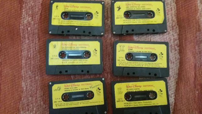 cassetes k7 originais portuguesas anos 90 - Indiana jones - Tron-