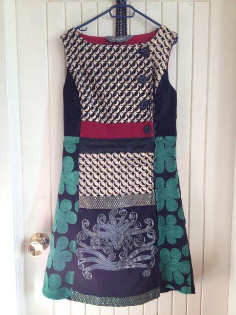 sukienka desigual rozm. xs 34