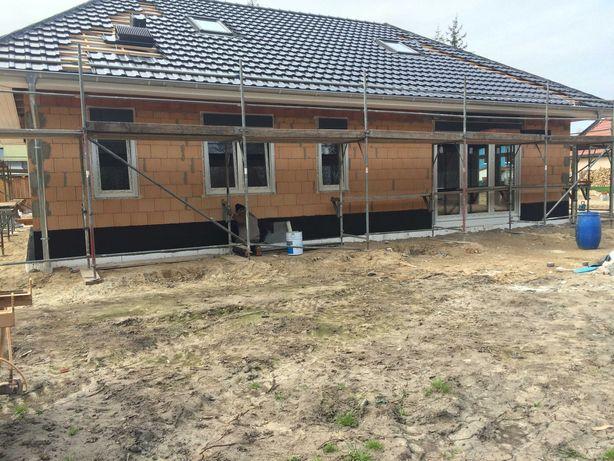 Budowa domów, stan surowy, usługi budowlane.