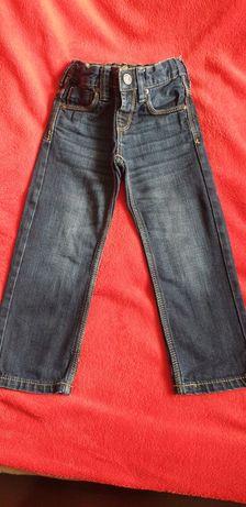 Spodnie dżinsy r 98