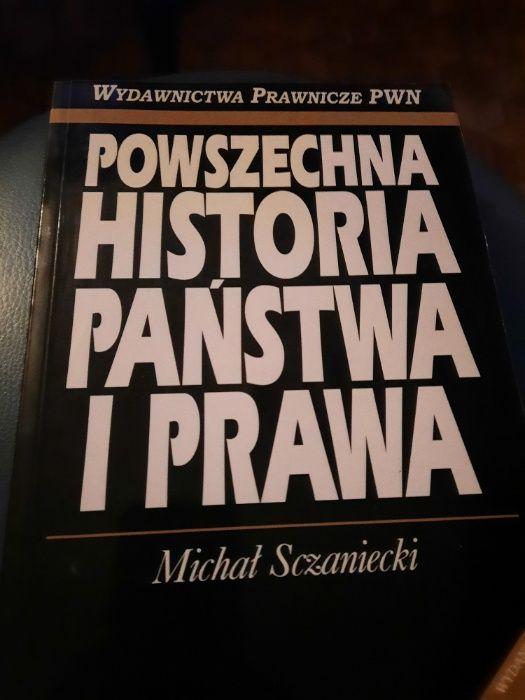 PWN Szczaniecki Powszechna Historia Państwa i Prawa Warszawa - image 1