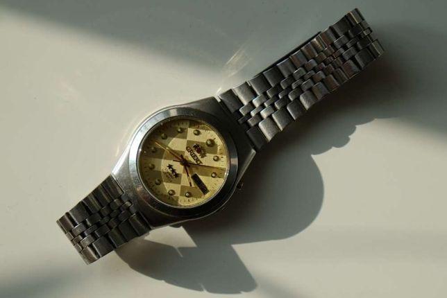 ORIENT 3 Crystal 21 JEWELS японские мужские часы