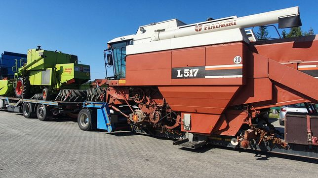 Kombajn zbożowy Laverda L517