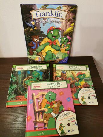 Książeczki edukacyjne Franklin - twarda oprawa